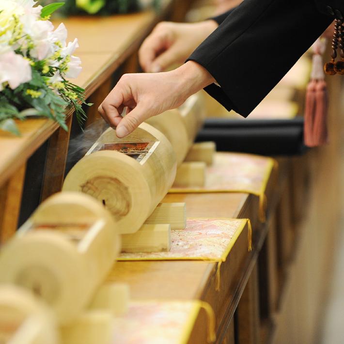 社葬の様子