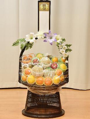 果物籠盛り F15